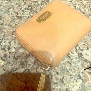 Michael Kors Caramel Leather Wallet